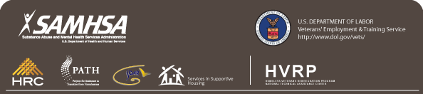 Homelessness Resource Center Logo Projects for Assistance in Transition from Homelessness Logo and Homeless Veterans reintegration Program Logo